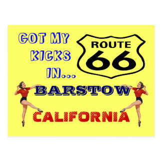 Postcard Get Your Kicks On Route 66 - Road Trip PC