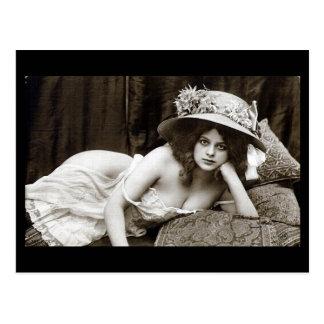 Postcard - Girl With Beautiful Eyes