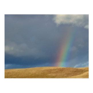 POSTCARD - Golden Hills at Rainbows End