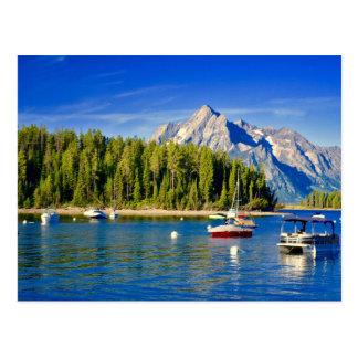 Postcard - Grand Tetons Lake