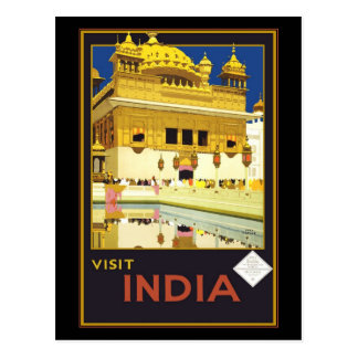 Postcard Greetings India