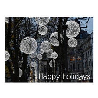 Postcard-happy holidays postcard