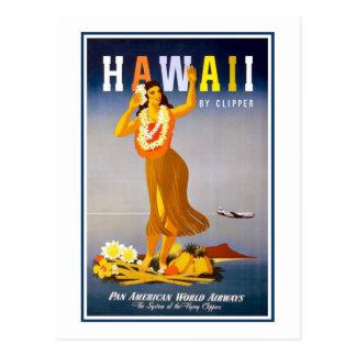Postcard-Hawaii Vintage Postcard