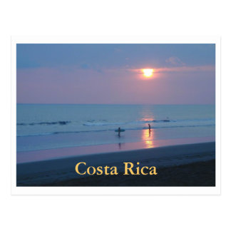 Postcard Hermosa Blue Sunset