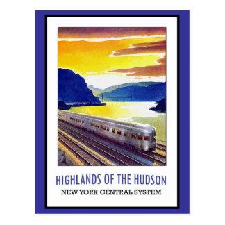 Postcard Hudson New York Greetings Vintage
