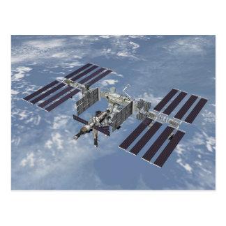 Postcard / International Space Station