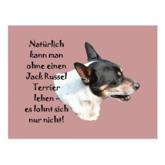 """Postcard """"Jack Russel Terrier """""""
