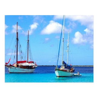 Postcard Kralendijk Bay Bonaire