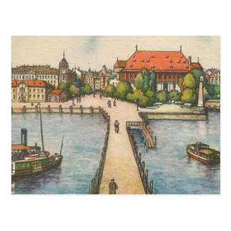 Postcard - Lake Constance, Konstanz