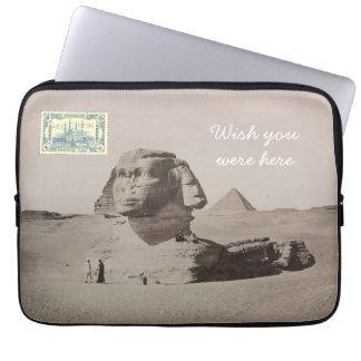 Postcard Laptop Sleeve - Cairo, Egypt