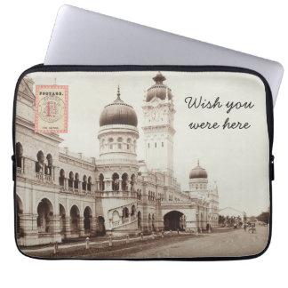 Postcard Laptop Sleeve - Kuala Lumpur