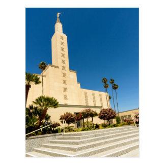 Postcard-LDS Los Angeles Temple Postcard