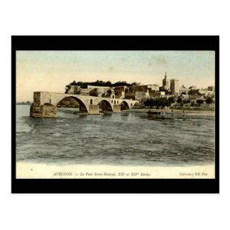 Postcard, Le Pont d'Avignon Postcard
