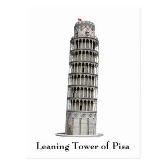 Postcard: Leaning Tower of Pisa: Postcard