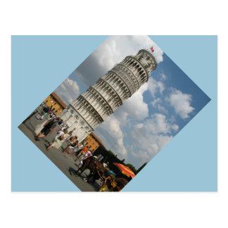 Postcard- Leaning Tower Of Pisa Postcard