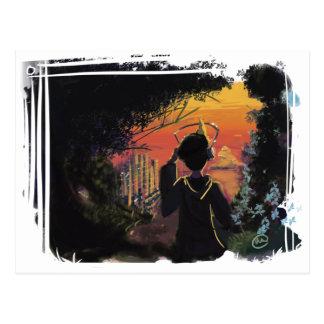 Postcard - lo-fi sunset by micgurro
