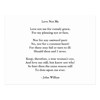 Postcard-Love Art-Love Poem 3 Postcard