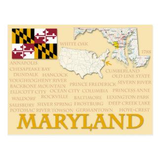 "Postcard ""Maryland"""