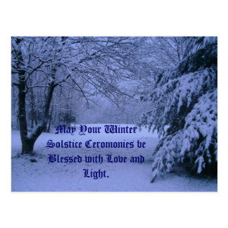 Postcard, May Your Winter Solstice Cerom... Postcard
