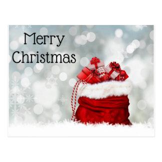 Postcard-merry christmas postcard