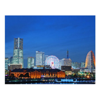 Postcard Minato Reflected in Yokohama City, Japan
