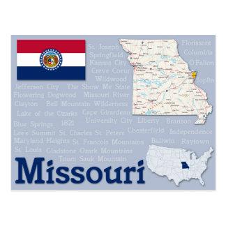 "Postcard ""Missouri"""