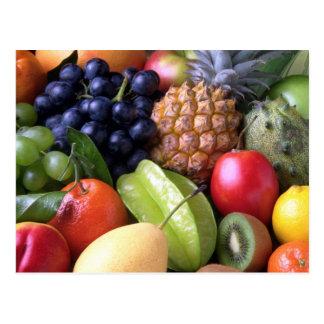 Postcard, Mixed Fruit Photo Postcard