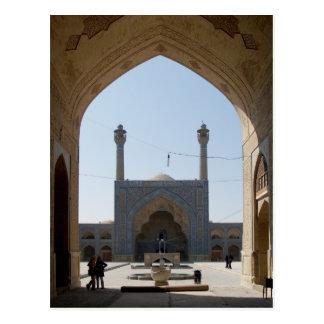 Postcard Mosque, Isfahan, Iran