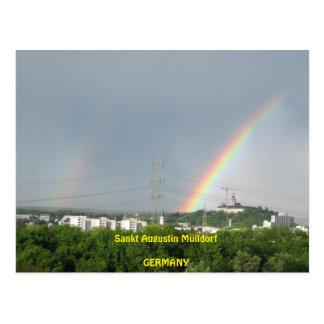 "Postcard ""Nature in sank Augustin garbage village"