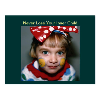 Postcard - Never Lose Your Inner Child