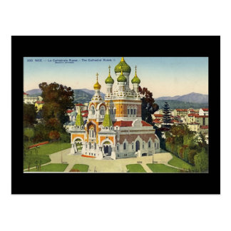 Postcard, Nice, La Cathedrale Russe Postcard