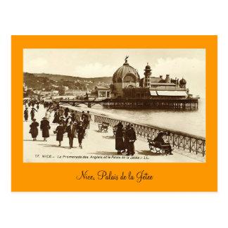 Postcard, Nice, Palais de la Jetee Postcard