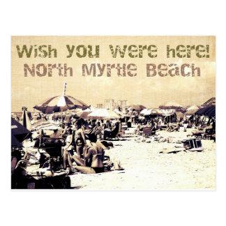 postcard north myrtle beach south carolina