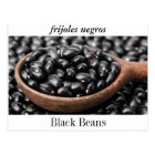 """Postcard of Black Beans, or """"Frijoles Negros."""""""