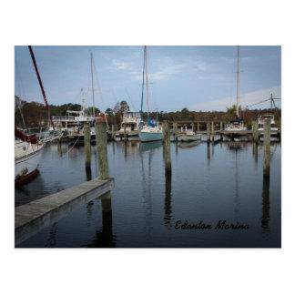 Postcard of Edenton Marina