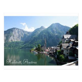 Postcard of Hallstatt, Austria