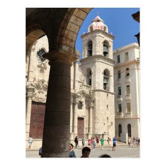Postcard of Havana Cathedral, Havana, Cuba