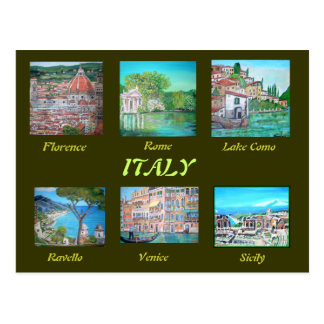 Postcard of Italy