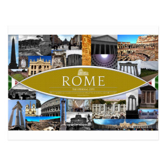 Postcard of Rome