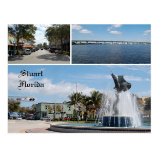 Postcard of Stuart Florida, Sailfish Capital