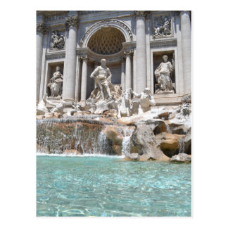 Postcard of Trevi Fountain