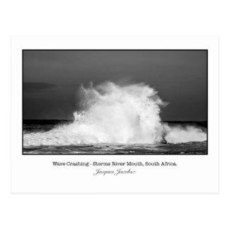 Postcard of Wave Crashing