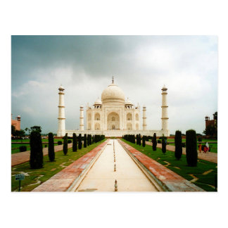 Postcard On the way to Taj Mahal, Agra, India