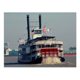 Postcard Paddle Steamer Natchez New Orleans LA