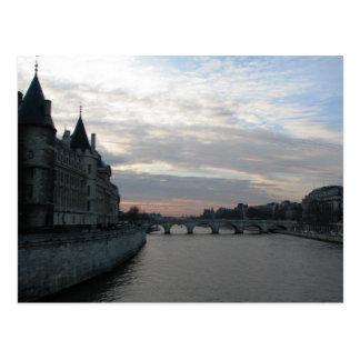 Postcard Paris Sena