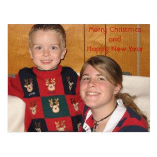 postcard photo1, Merry ChristmasandHappy New Year