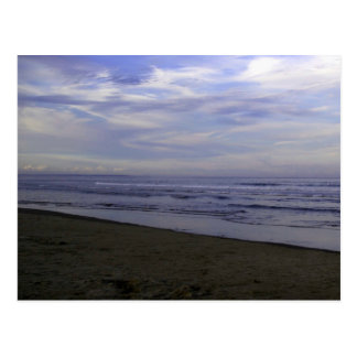 Postcard PHOTOGRAPH OF BEACH