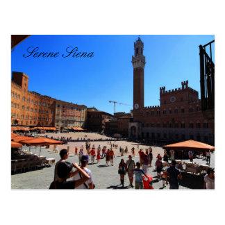 Postcard: Piazza del Campo, Siena, Italy Postcard