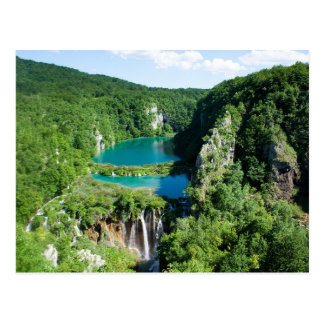Postcard Plitvice Lakes National Park, Croatia