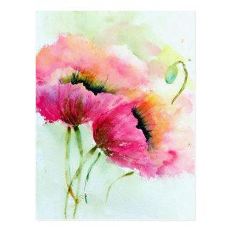 Postcard - Poppies